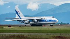 RA-82077 - Volga-Dnepr Airlines - Antonov An-124-100 Ruslan (bcavpics) Tags: ra82077 volgadneprairlines antonov an124 ruslan aviation aircraft transporter cargo airplane plane cyvr yvr vancouver britishcolumbia canada bcpics