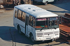 PAZ-32053  Р 286 МВ 45 (RUS) (zauralec) Tags: kurgancity streetkurtamyshskaya город курган улица транспорт автобус paz32053 р 286 мв 45 rus