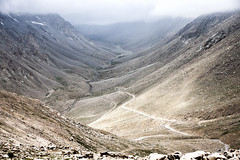 Mountains and valleys (bag_lady) Tags: mountains himalayas valleys mountainous landscape view scenic ladakh india nubravalley rugged geology