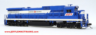 Overland Models 1939 C39-8 Painted as General Electric Demonstrator 607