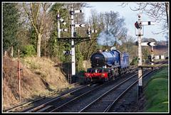 King Edward 2 (Rob-33) Tags: 6023 kingedward2 bewdleystation svr severnvalleyrailway steampreservation steamlocomotive pentaxk3 pentaxda50mm gwr uksteam