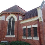 Wangaratta. Exterior of the Delany Chapel built in 1929. Used for the nuns in the adjoining convent. Now used as a chapel for the Catholic nursing home. thumbnail