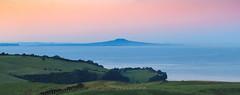 Shakespear Regional Park (matthewburden) Tags: sun sunrise newzealand auckland shakespear regional park volcano