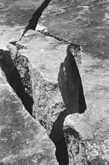 Broken (dbeau29) Tags: film filmphotography filmisnotdead filmisalive believeinfilm rocks nature national heritage site arabiamountain georgia granite ilford hp5 ilfordhp5 shootfilm buyfilmnotmegapixels