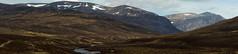 Scottish Highlands Panoramic (steve_whitmarsh) Tags: aberdeenshire scottishhighlands scotland highlands braemar panorama mountain hills landscape topic