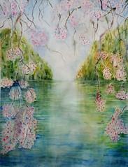 Flor de cerezo (benilder) Tags: acuarela aquarelle watercolor watercolour sakura cerezo flor cerisier fleur cherryblossoms benilde