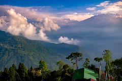 Kangchenjunga mountain range, Sikkim, India (CamelKW) Tags: sikkimindia2018 kangchenjunga mountainrange sikkim india pellingcity in