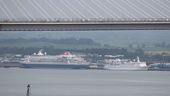 BALMORAL & BERLIN; Port of Rosyth; 09-06-2018 (graeme8665) Tags: forthroadbridge