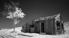 Manhattan, NV (Jose Matutina) Tags: manhattan nevada blackandwhite infrared ghost town
