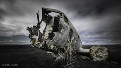 The legendary DC 3 wreck I (Dani Maier) Tags: suðurland island is dc3 airplane wreck beach iceland crash abandoned wreckage
