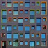 Candy Crush (Paul Brouns) Tags: architecture architektur architectuur facade façade straight square urbantapestry colours colors colorful colourful eindhoven netherlands holland windows window building abstract reflections student housing project paulbrouns paulbrounscom paul brouns artist photographer