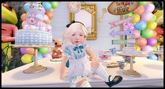 My Alice Themed Party (delisadventures) Tags: secondlifefashion second secondlifefashionblog secondlifeblog secondlife slfashion seconlifefashion slfashionblog slfashionblogger slfashin slfashino sl slblogger slfashions slblog slevents slbaby slbog slkids slblogg slfamily summer alice wonderland dress outfit party balloons enchantment cute tea fun mad hatter little stars viva kids adorable toddleedoo cat queen hearts