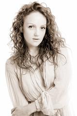 UK - WItney - Ivory Flame 13 sepia v2 (Darrell Godliman) Tags: ukwitneyivoryflame13sepiav2 ivoryflame modelshoot homestudio studioshoot portrait portraiture fashion sepia mono monochrome highkey