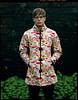 boy wearing he's mums raincoat (steve-jack) Tags: sinar p 210mm kodak portra 160 lf large format 5x4 4x5 portrait tetenal c41 kit epson v500