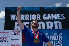 180604-D-DB155-001 (DoD News Photos) Tags: dodwg18 2018dodwarriorgames dodwarriorgames warriorgames woundedwarriors colorado coloradosprings dedication triumph overcomingadversity fortitude sports track field airrifle marksmanship wheelchairbasketball sittingvolleyball powerlifting cycling bicycling archery swimming rowing indoorrowing unitedstates