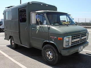 Ex military ambulance
