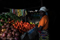 Ruhengeri Market, Rwanda, June 2017 (Catherine Gidzinska and Simon Gidzinski) Tags: 2017 africa eastafrica june ruherengi rwanda market woman lowkey fruit portrait 7dwf ngc