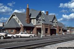 Santa Fe's Flagstaff Passenger Station (jamesbelmont) Tags: santafe atchisontopekasantafe flagstaff arizona atsf route66 passenger station depot