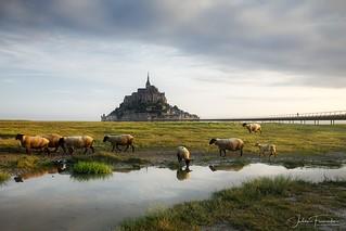 Mont-Saint-Michel, Normandie