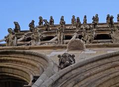 ****Gargouilles de l'église Notre Dame de Dijon (Gé DEVEAU) Tags: france contreplongée bourgogne dijon
