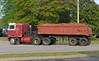 1991 Kenworth cabover pulling an old semi dump (Thumpr455) Tags: 1991 kenworth cabover pulling semi dump dumptruck coe red worn greer sc southcarolina blueridge heavymachinery redandwhite kw dirt nikon d5500 1855mmf3556