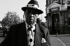 IMG_0094 (JetBlakInk) Tags: afro brixton candid mono portrait pov windrush windrushgeneration afrocaribbean men blackman streetphotography streetscene hatandtie suitedbooted