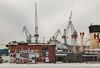IMG_9090 - H (ragnarfredrik) Tags: byer helsinki industri industry cranes chimney hut posters winter