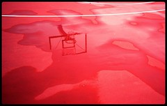 The Details : Game On Mars (Storyteller.....) Tags: details basketball basket court red water rain mars mirror reflection gravity