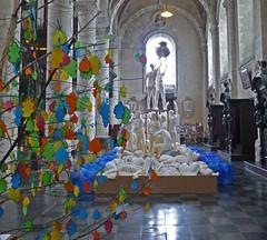 Installation en l'Eglise du Béguinage. (caramoul25) Tags: bruxelles brussels béguinage église installation caramoul25