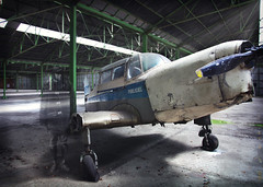 Project Urbex52 nr 23 (gabrielgs) Tags: urbanexploring urbex urbanexploration decay abandoned abandon abandonedplace photography plane planewreck airplane aviation hangar ghost pilot grounded lost lostindecay lostintime lostplace aircraft cockpit