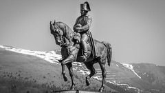 Napoléon à Laffrey (Isère) - France (pascal548) Tags: animal cheval statue napoléon