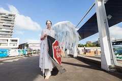 World Ocean Day 2018 - Cairns (stopadanicairns) Tags: greatbarrierreef cairns world ocean day climatechange fossilfuels australia queensland stopadani adani climate angels protest coralreef environment warning danger coal coalmining methane oil north coastline coast water air boat