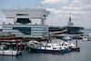 護衛艦いずも@大さん橋 (kasa51) Tags: port harbor ship boat hericopterdestroyer jmsdf yokohama japan 護衛艦いずも