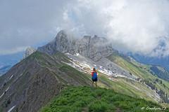 Pointe de la Sambuy - Bauges (Goodson73) Tags: didier bonfils goodson73 dgoodson bauges pointe de chaurionde 2157m parc du mouton rando montagne