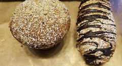Round or oblong? (Let Ideas Compete) Tags: muffin food pastry chocolate
