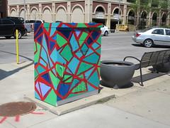 Utility Art (TheTransitCamera) Tags: rochester mn minnesota city art box utility