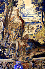 Genova, Via Balbi, Palazzo Reale, Wandteppich der Diana (tapestry of Diana) (HEN-Magonza) Tags: genova genua genoa ligurien liguria italien italy italia viabalbi palazzoreale palazzostefanobalbi diana wandteppich tapestry arazzo