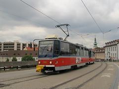 Tatra T6A5, #7955, DP Bratislava (transport131) Tags: tram tramwaj dp bratislava tatra t6a5