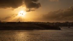 Sunset over Manoel Island (Lee Rosenbaum) Tags: architecture valletta manoelisland landscape fortress sunset malta clouds