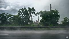 Drive-by Shooting Series #63614e (lotl.axo) Tags: xt1 bewegung deutschland godorfwesseling xf18135mm germany industrie industry autobahn motorway drivebyshooting regen rain