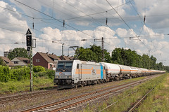 185 687 HSL Logistik. Lintorf (Hans Wiskerke) Tags: ratingen nordrheinwestfalen duitsland de