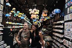 Lantern shopping (scarbrog) Tags: turkishdelight camden london lantern couple streetphotography