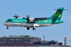 EI-GEV ATR42 @ Dublin Airport 12th May 2018 (_Illusion450_) Tags: dublin dublinairport eidw dub airport aircraft airplane airline airlines aeroplane aeroport aeropuerto aviation avion flughafen 120518