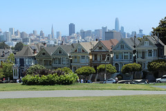 Painted Ladies - San Francisco, CA (russ david) Tags: ca painted ladies san francisco architecture skyline victorian houses edwardian june 2018 alamo square