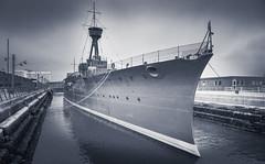 HMS Caroline (Dhina A) Tags: sony a7rii ilce7rm2 a7r2 a7r fe 24105mm f4 sonyfe24105mmf4 zoom lens bokeh sharp hmscaroline restored worldwar one ship battleofjutland