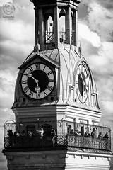 Typically MUNICH: Peterskirche observation deck (mkarwowski) Tags: people bavaria germany deutschland munich münchen monochrome blackandwhite m42 jupiter37a canon eos 80d canoneos80d eos80d