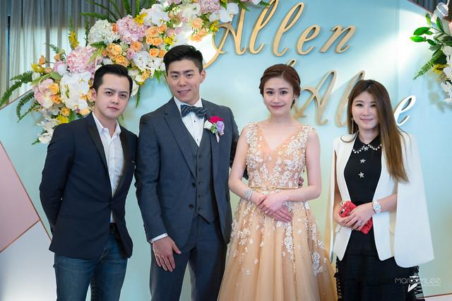 Allen&Alice-台南大億麗緻宴客-婚禮記錄-63