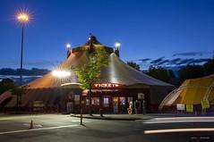 Tickets (Clayton Perry Photoworks) Tags: vancouver bc canada richmond night lights explorebc explorecanada circus tent royalcanadiancircus
