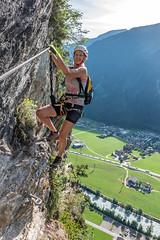 Via Ferrata Pfeilspitzwand (Bergfex_Tirol) Tags: bergfex abenteuer adventure herausforderung challenge fels rock sport mountaineering klettern climbing oesterreich klettersteig viaferrata oostenrijk fixedroperoute autriche austria berg österreich alpen alps gebirge tirol tyrol mountains cliff felswand pfeilspitz mayrhofen zillertal