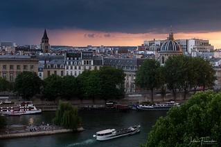 Église Saint-Germain des Près & Institut de France, Paris